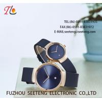 Wholesale WHOLESALE PU STRAP ALLOY CASE QUARTZ WATCHES COUPLE WATCH from china suppliers