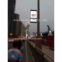 Wholesale Wifi/3G Intelligent P4 P5 P6 P8 Lamppost Display Outdoor Street Advertising Light Pole Led from china suppliers