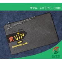 Wholesale black metal card,80*50*0.36mm from china suppliers