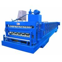 Best Automatic PLC Frequency Control Double Layer Roofing Sheet Roll Forming Machine wholesale