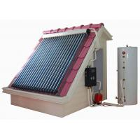 China Split heat pipe high pressure solar water heating system on sale