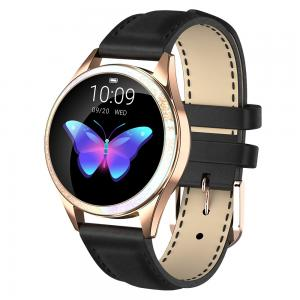 Wholesale Round Lady Style NRF 52832 Heart Rate Monitor Smartwatch from china suppliers