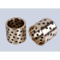 Wholesale Casting Bronze Bearings , Strengthening Brass With Solid Lubricant Casting Bronze Bearings from china suppliers