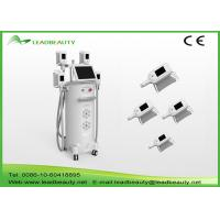 Best Vertical 2000W fat freeze Cryolipolysis slimming machine with 4 handles cooling scupting machine wholesale