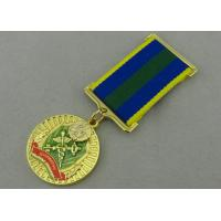 Zinc Alloy Custom Awards Medals Die Casting with Transparent Enamel