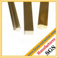 Wholesale different shape copper extrusion section from china suppliers