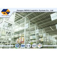Buy cheap Storage Multi Tier Shelving System Metal Mezzanine Systems Q235B Material OEM from wholesalers