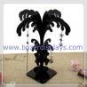 Buy cheap Black Acrylic Earring Stand Tree Display Stand Earring Tree Jewelry Display from wholesalers