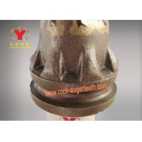 Wholesale 125mm Height Rock Auger Teeth Eight Piece Robe With Tungsten Carbide Material from china suppliers