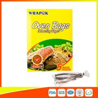 Wholesale Multi Purpose Oven Cooking Bags For Food Storage , Plastic Oven Bags For Cooking from china suppliers