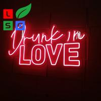 Wholesale LED Neon Light Signs Custom Clear Acrylic Backing Wedding Event from china suppliers