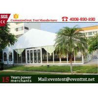Wholesale Outdoor Big  A Frame Tent PVC Fabric With Hot Dip Galvanized Steel Parts from china suppliers