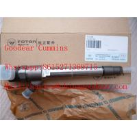 Foton  isf2.8 diesel engine fuel injector 5258744/0445120376 for sale