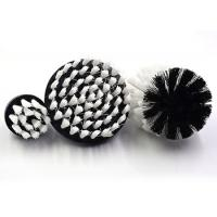 China Grout Cleaning Electric Drill Cleaning Brush PP / Nylon Bristle Bristle Material on sale