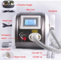 Wholesale 1064nm 532nm 1320nm Laser Pigment Removal / Tattoo Removal Machine Multifunction 1000mj from china suppliers