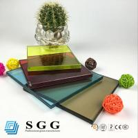 Wholesale high quality10.38mm colored laminated glass from china suppliers