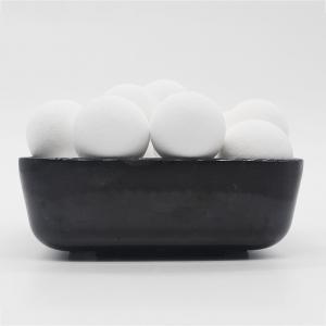 Wholesale 3.4g/cm3 1/4'' Spheres Ceramic Balls 99% Alumina Support Media from china suppliers