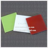 Wholesale Silk screenprinting tempered/toughened glass for kitchen splashback from china suppliers