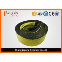Best OEM Multi Color 3 Inch Polyester Tow Straps with Reusable Storage Strap wholesale
