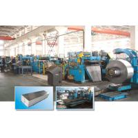 Fully Automatic Steel Slitting Lines SUS202 / SUS304 Stainless Steel Coil Slitting Machine