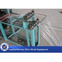 Wholesale Professional Razor Wire Machine 1100MMX1000MMX1700MM Easy Maintenance from china suppliers