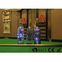 China Fashionable Wine Bottle Led Lights , Wine Bottle Lights Battery Operated on sale