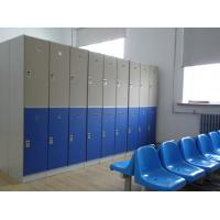 Wholesale Lightweight Double Tier Lockers , Blue Door Staff Room Lockers For Hospitals from china suppliers