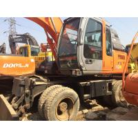 China 160 Used Wheel Excavator / Used Hitachi Excavator 17300kg Original Painting on sale