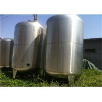 Wholesale Food Grade Liquid Mixing Tank / Yogurt Fermentation Tank With Double Wall Single Wall from china suppliers