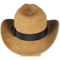 Wholesale Western Style Paper Straw Cowboy Hat from china suppliers