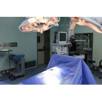 Wholesale Blue Hygiene Disposable Surgical Packs / Sterile Disposable Drapes OEM from china suppliers