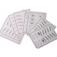 Wholesale Eyebrow Tattoo Practice Skin Practicing Apprentice Tattooing Strap from china suppliers