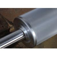 Best Chrome Plated Anilox Rollers In Flexo Print Machinery Parts , Embossed Roller wholesale