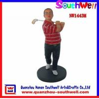 Wholesale Polyresin Golf Player Figurines from china suppliers