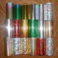 Hot Stamping Foil for Plastic for sale