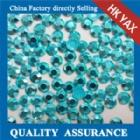 Wholesale iron on aluminium rhinestuds aluminium rhinestuds iron on YX1128-SKY color from china suppliers