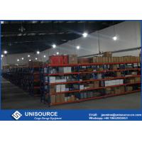 Wholesale Standard Bulk Goods Storage Industrial Shelving Systems Anti - Rust With Metal Decking from china suppliers