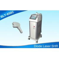 China Double Coolings Diode Laser Hair Removal Machine , Permanent 810nm Laser Hair Removal on sale