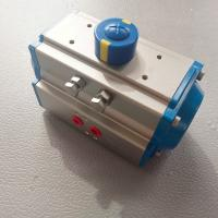 China AT Pneumatic Actuator Rack and Pinion Double Effect and Single Effect  Aluminum Actuator Ce Ex for sale
