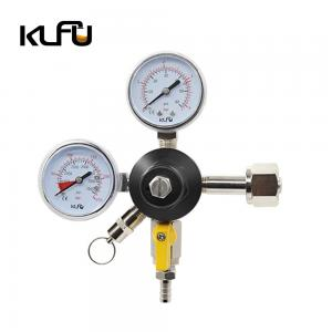 Wholesale Inlet Size G3/4 2000PSI kegerator pressure regulator from china suppliers
