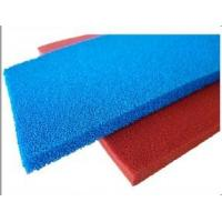 Wholesale Red Blue Silicone Sponge Sheet Food Grade Silicone Rubber Sheet Open Cell For Iron Table from china suppliers