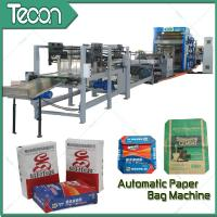 Wholesale Automatically Management Bottomer Machine / Paper Bag Past Make Machine With Reinforcement Unit from china suppliers