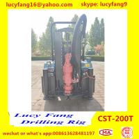 China Hot Popular Tractor Mounted Mobile Water Well Drilling Rig For 100m Depth for sale