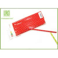 Wholesale Small Fancy Cool Drinking Straws , Pretty Thick Custom Paper Straws With Banners from china suppliers