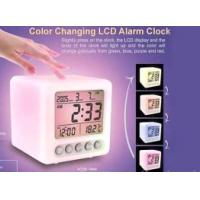 China Color Changing Clock on sale