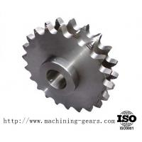 Best Machining Carbon Steel Double Sprocket Chain Wheel For Transmission wholesale
