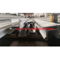 Buy cheap Hydraulic Feed Aluminium Extruded Profiles Torsional Resistance from wholesalers