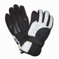 Wholesale Sports Ski Gloves, Made of 100% Polyester from china suppliers