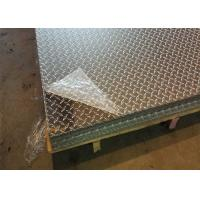 China 5052 H32 Aluminum Diamond Plate Thickness Custom For Commercial Vehicles on sale