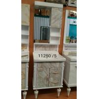 Buy cheap Water Transfer Printing 15mm Pvc Bathroom Vanity With LED Sense Mirror from wholesalers